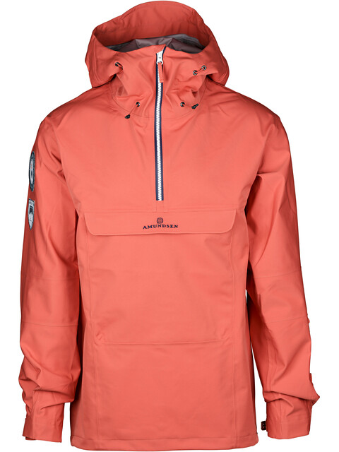 Amundsen Sports M's Amundsen Peak Anorak Weathered Red